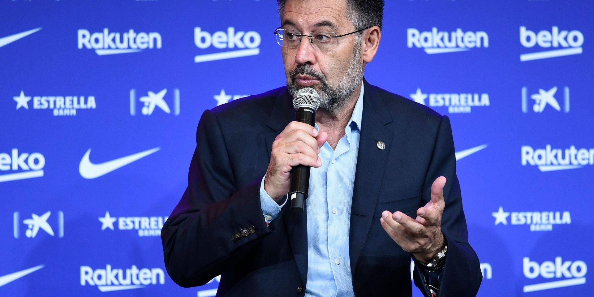 Après Lionel Messi, un candidat à la présidence du Barça défie Bartomeu avec une motion de censure