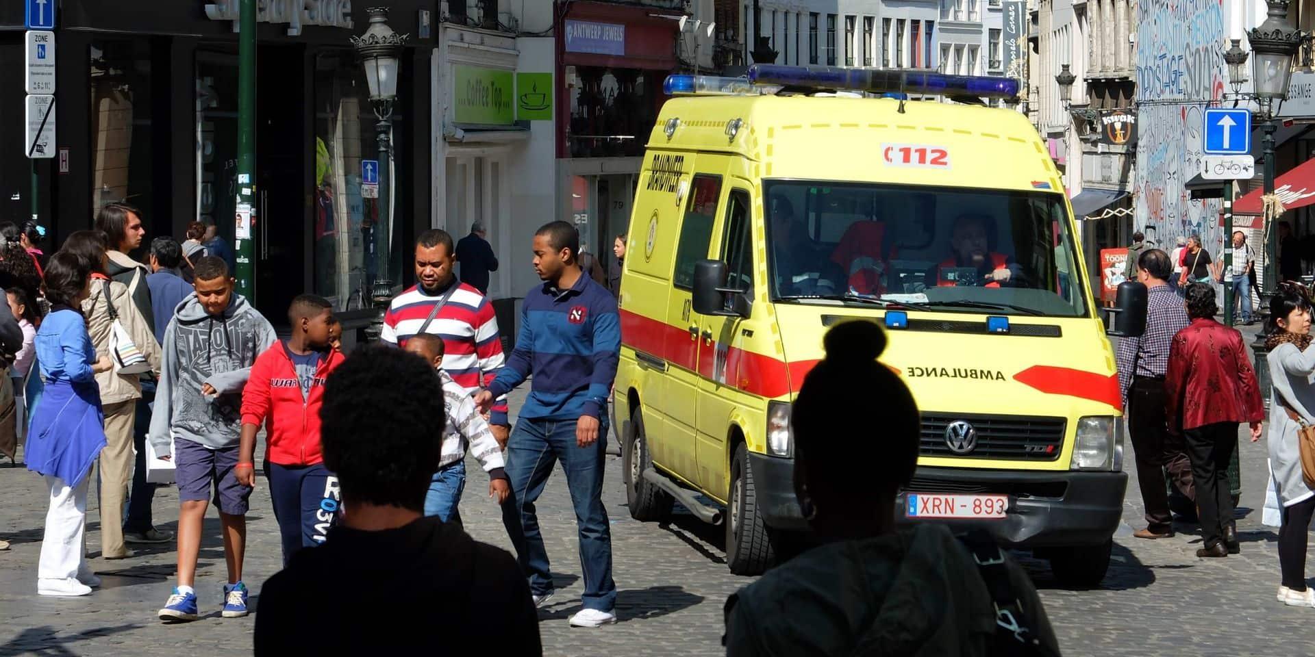 246 interventions médicales durant le dimanche sans voiture à Bruxelles