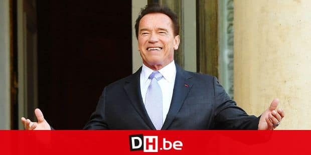 """Former Governor of the US State of California, US actor Arnold Schwarzenegger poses as he arrives at the Elysee palace in Paris, France, on December 12, 2017, as part of the One Planet Summit. The French President hosts 50 world leaders for the """"One Planet Summit"""", hoping to jump-start the transition to a greener economy two years after the historic Paris agreement to limit climate change. Photo by Christian Liewig/ABACAPRESS.COM Reporters / Abaca"""