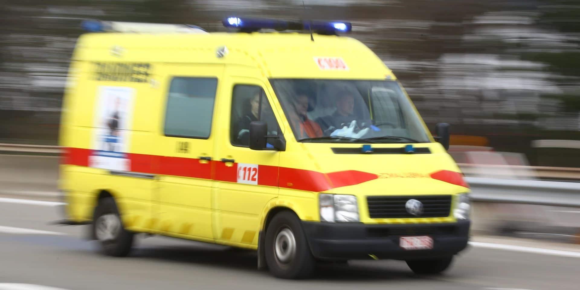 Collision frontale entre Sclayn et Thon-Samson : plusieurs blessés dont des enfants