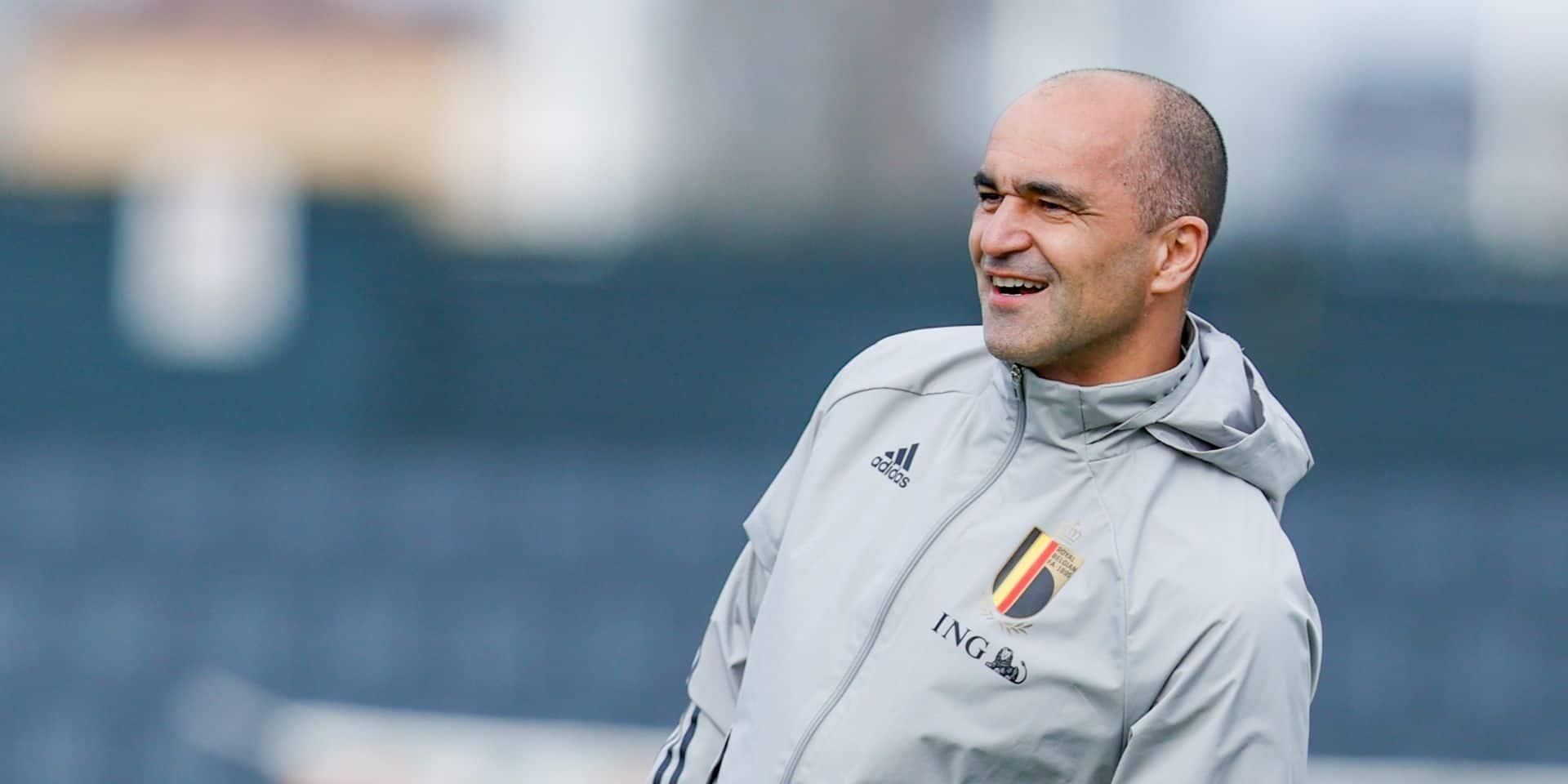 Bonne nouvelle pour Roberto Martinez: il devrait bien pouvoir rentrer une liste de 26 noms pour l'Euro