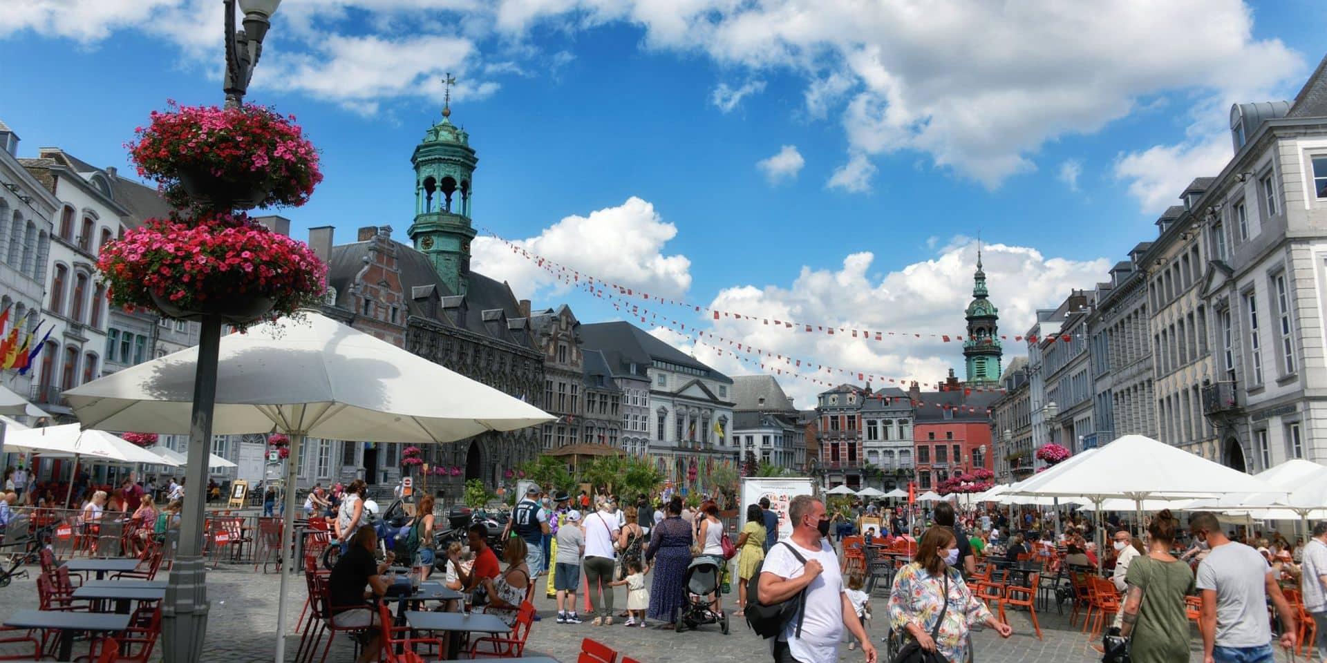 Les touristes n'ont pas oublié Mons cet été : près de 65 000 visiteurs !