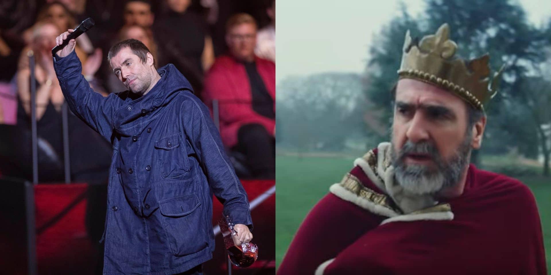Liam Gallagher s'offre Éric Cantona dans son dernier clip