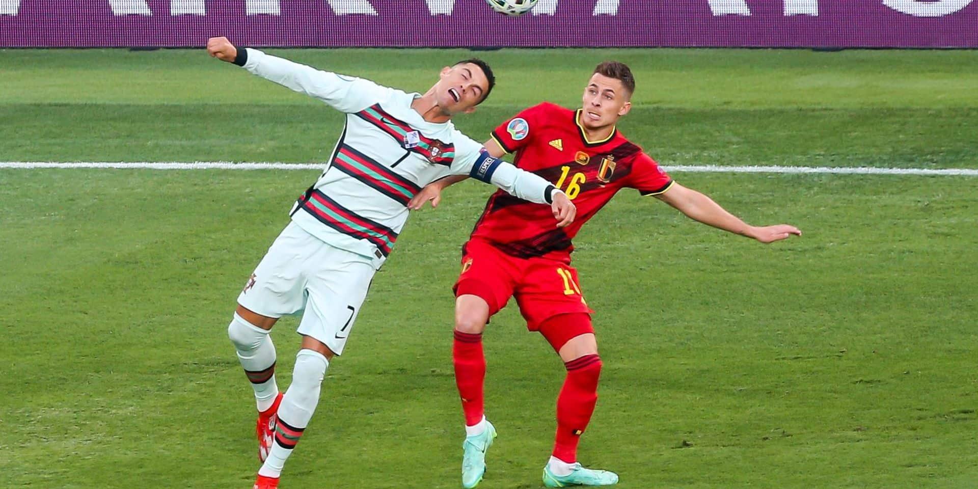 European Football Championship - Belgium - Portugal