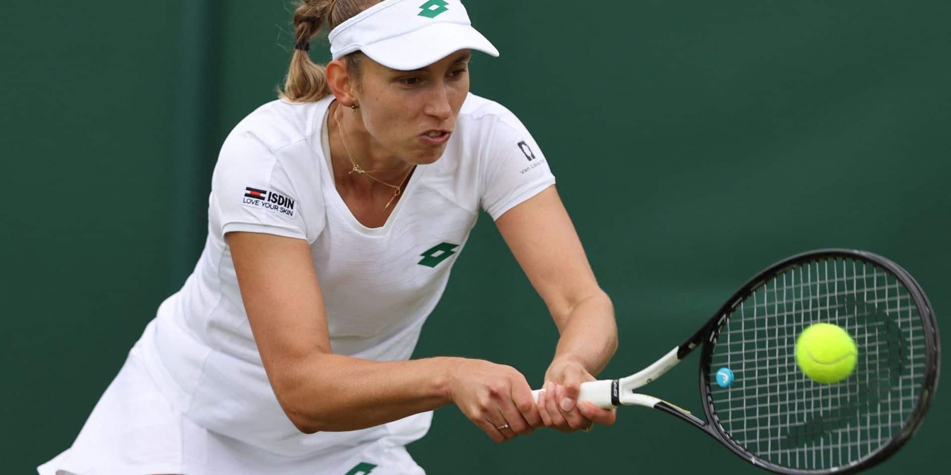 Elise Mertens se hisse sans trembler au deuxième tour de Wimbledon