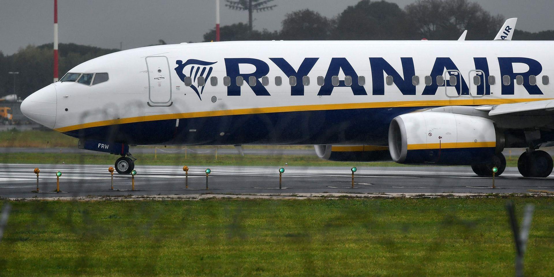 Grève Ryanair: 104 vols annulés au départ et à destination de la Belgique le 10 août prochain