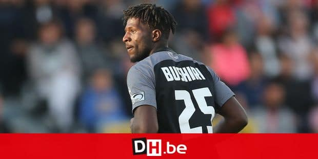 Eupen's Rocky Bushiri pictured during the Jupiler Pro League match between KAS Eupen and Standard de Liege, in Eupen, Saturday 01 September 2018, on the sixth day of the Jupiler Pro League, the Belgian soccer championship season 2018-2019. BELGA PHOTO BRUNO FAHY