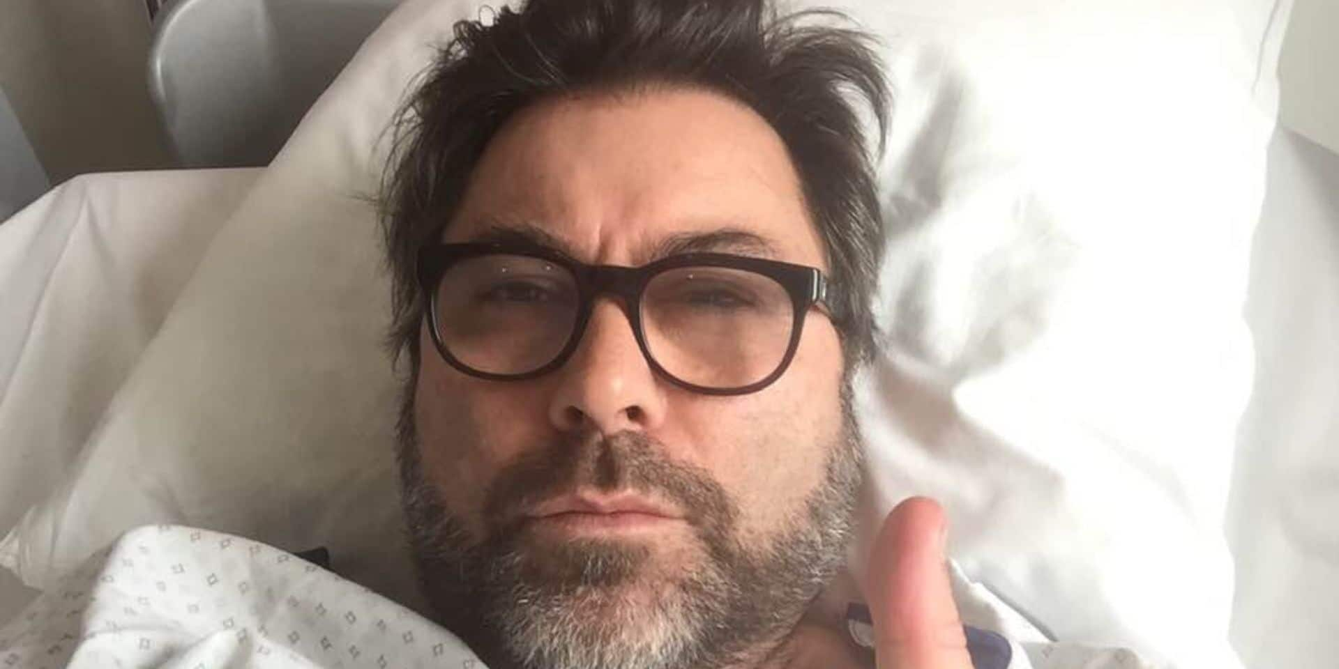 """Stéphane Pauwels hospitalisé: """"Je vais bien, no stress"""""""