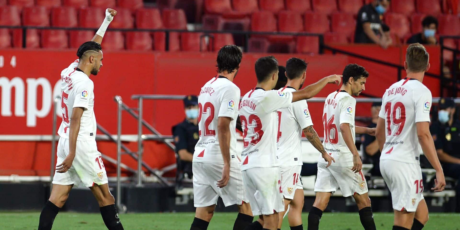 Séville bat Majorque et voit la Ligue des Champions
