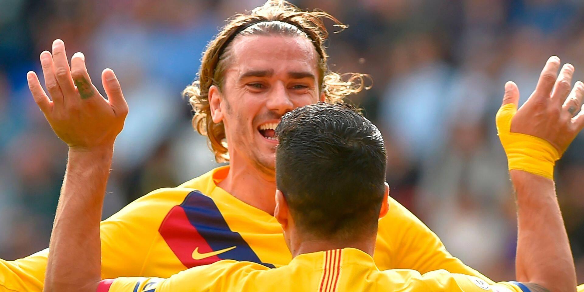 Liga: Le trio de choc a encore frappé et hisse le Barça en tête