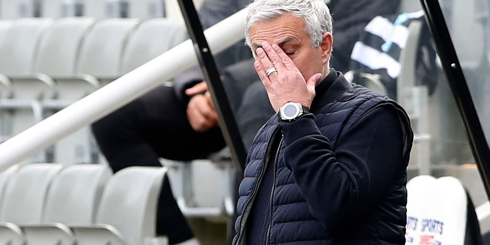 De Special One à Sacked One: José Mourinho viré pour la 3e fois de suite