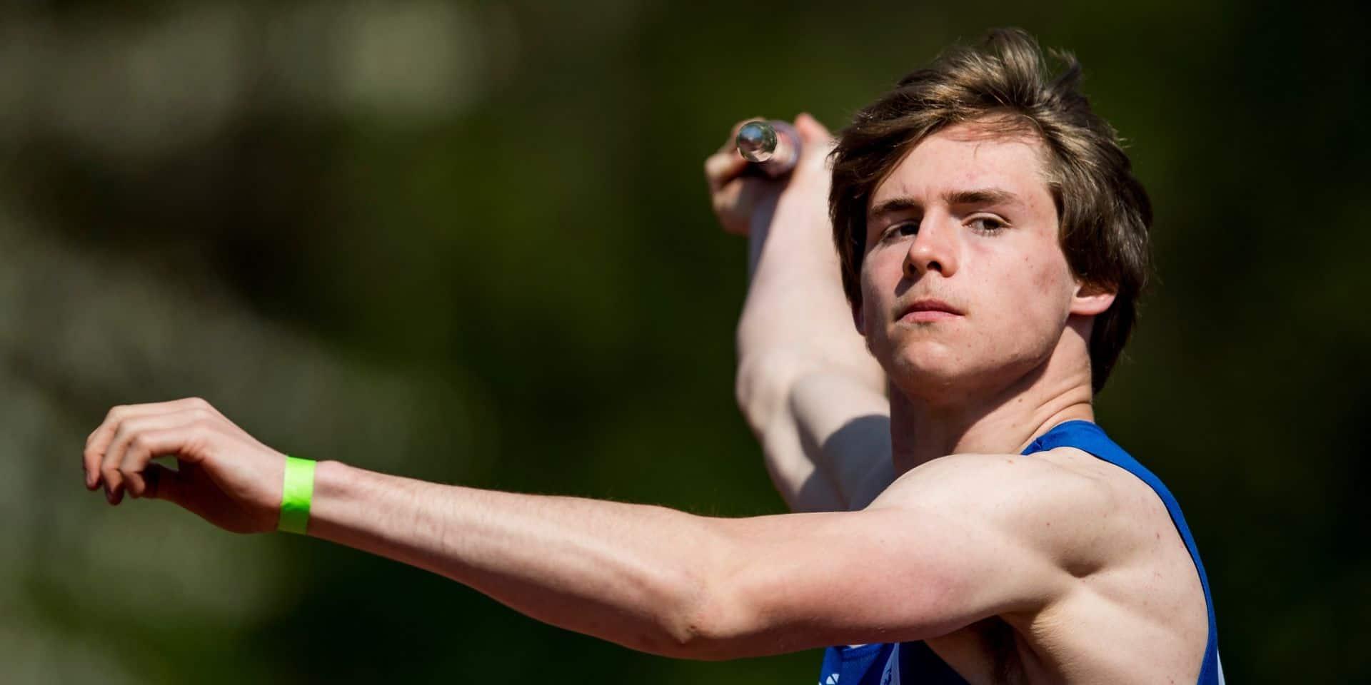 Décathlon d'Arona : Jente Hauttekeete pulvérise le record de Belgique juniors de Thomas Van der Plaetsen !