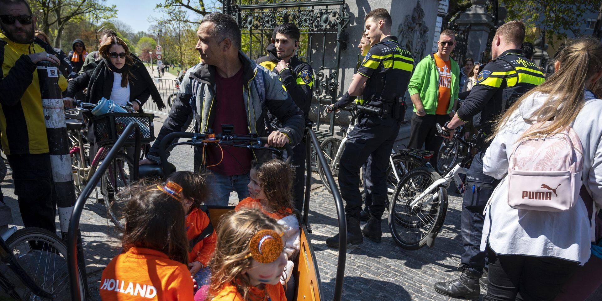 Le Vondel Park, à Amsterdam, a été évacué.