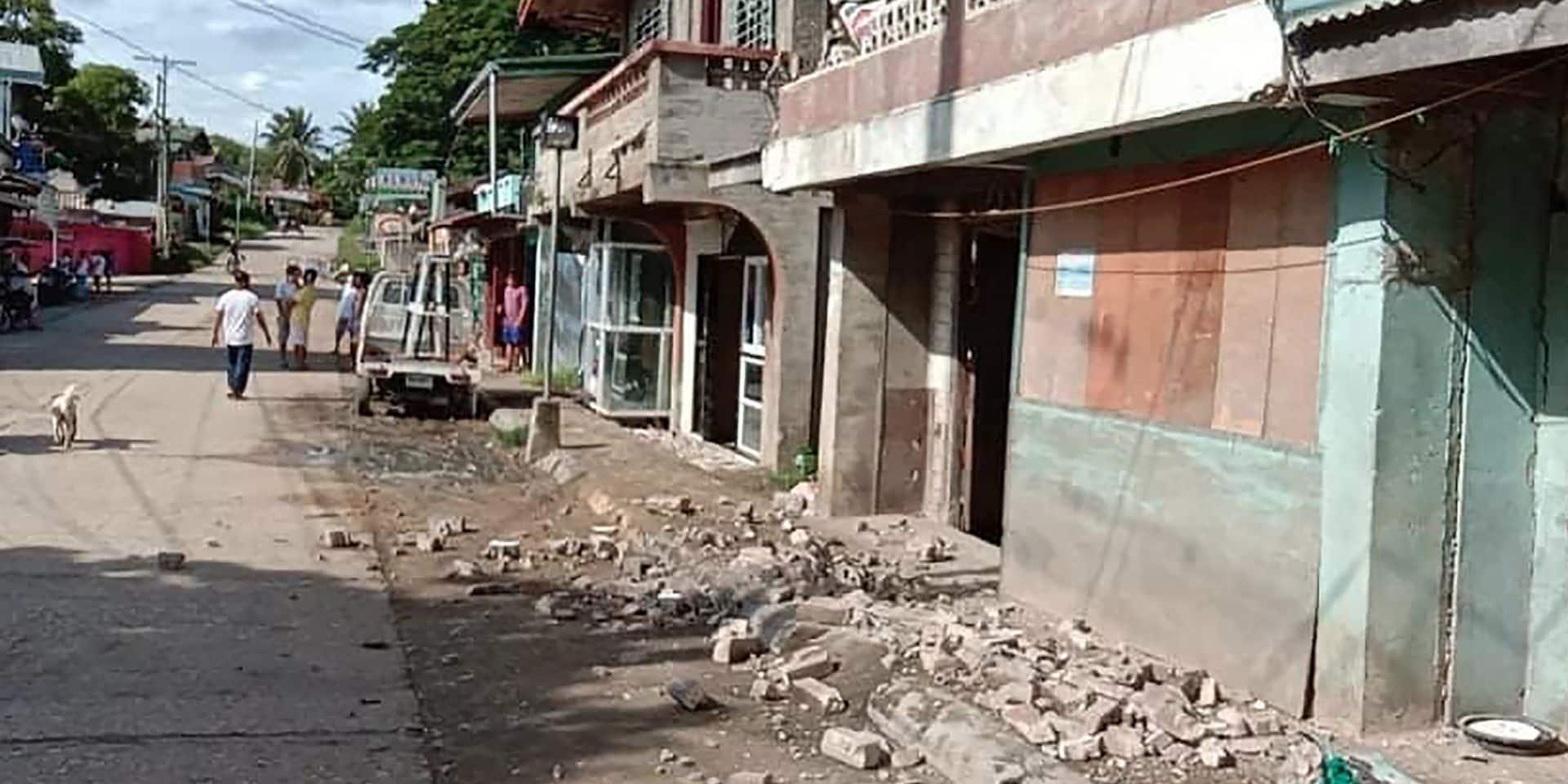 Un fort séisme au Philippines fait un mort et des dizaines de blessés