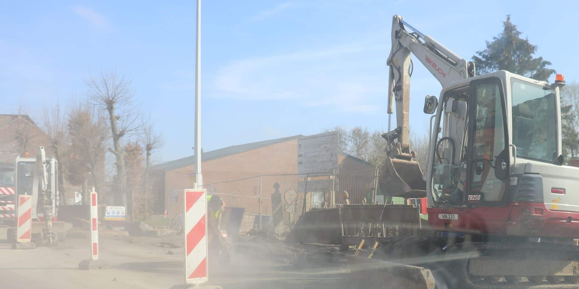 Fuite de gaz à Casteau : une déviation durant une semaine
