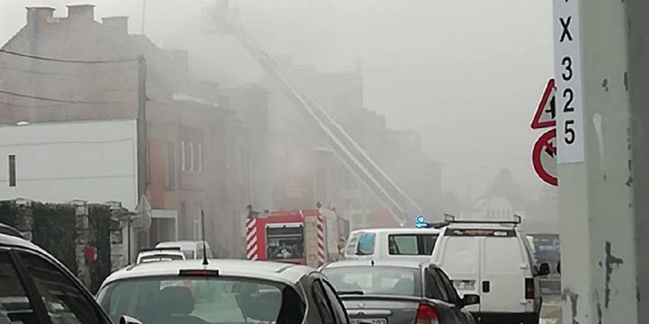 Incendie dans une habitation à Jemappes