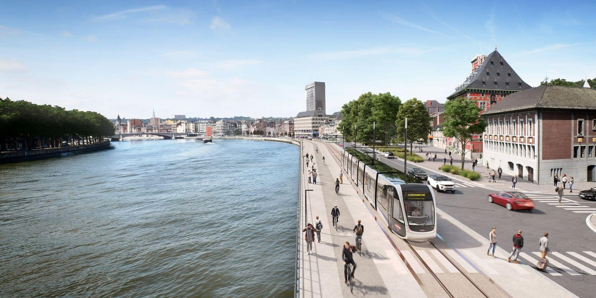 Travaux du tram : le boulevard d'Avroy sur une bande jusqu'à la mi-juillet