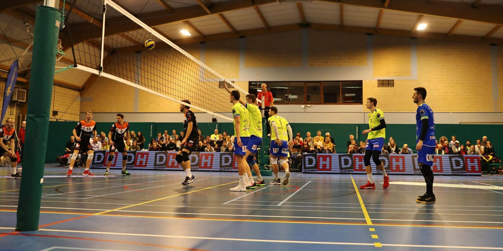 Volley-ball : Guibertin a bien lancé son championnat