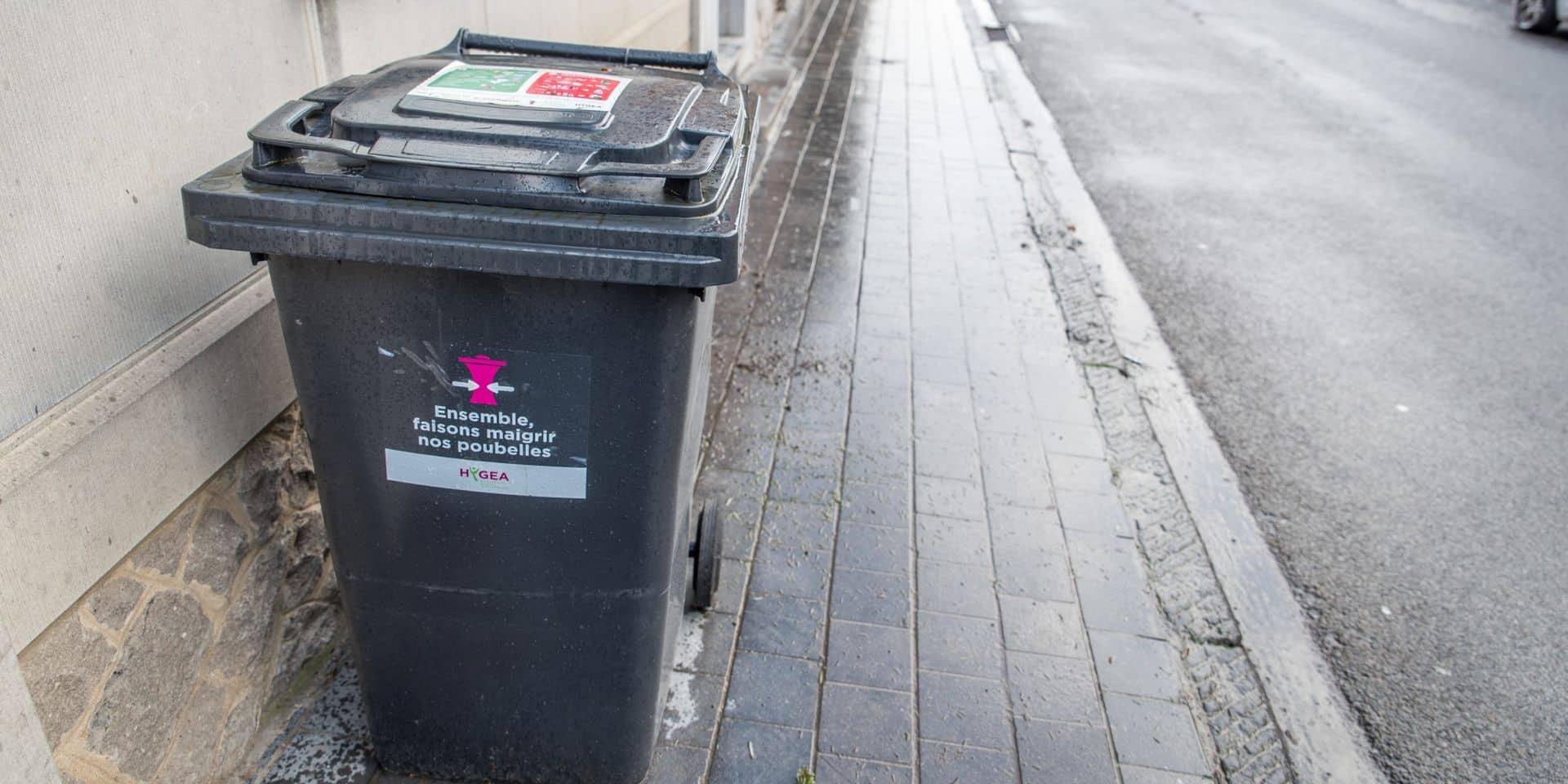 À Ecaussinnes, des citoyens vont manifester pour garder leurs poubelles