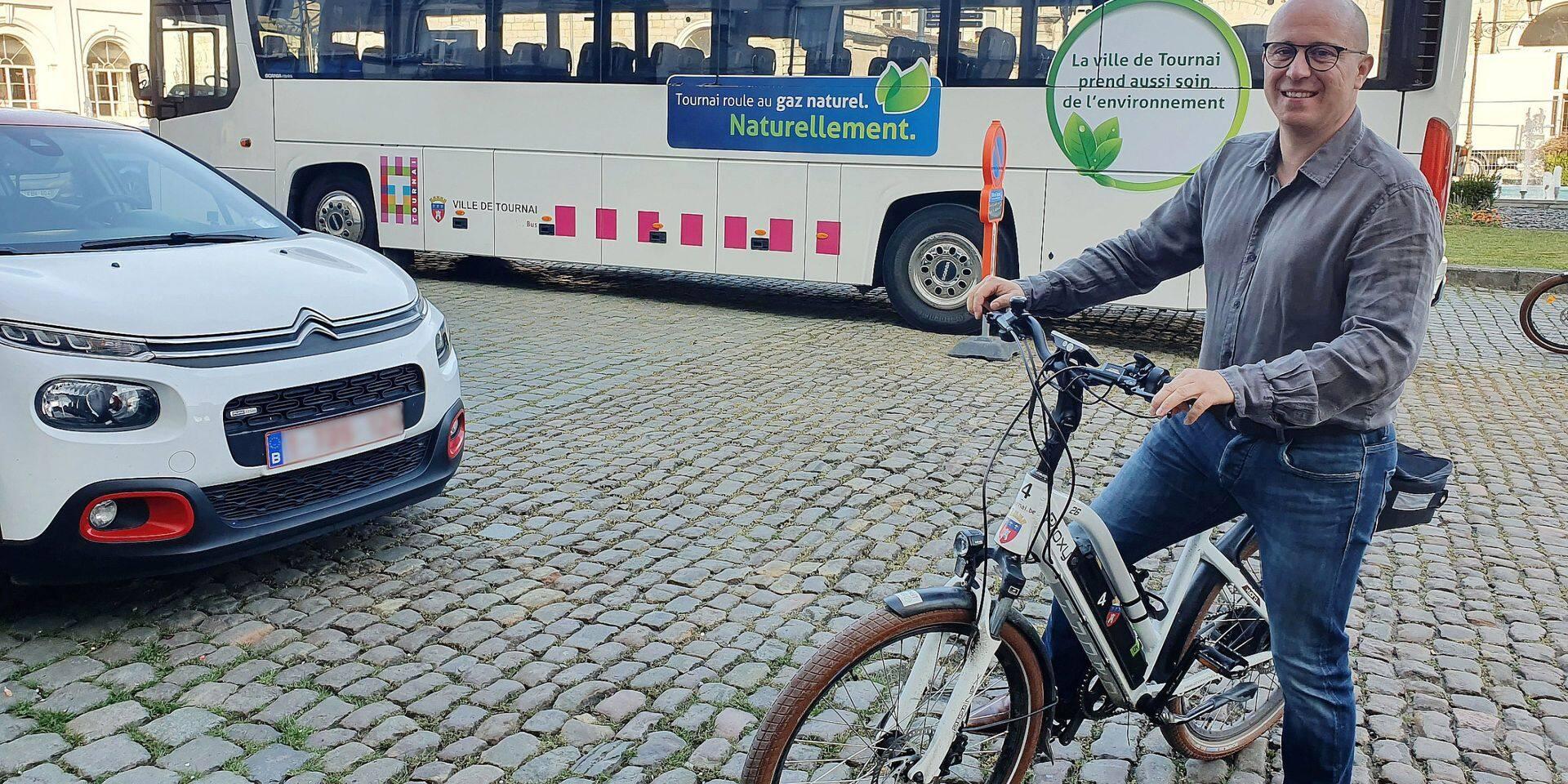 Une politique exclusive au vélo à Tournai ? L'échevin de la Mobilité fait preuve de nuance