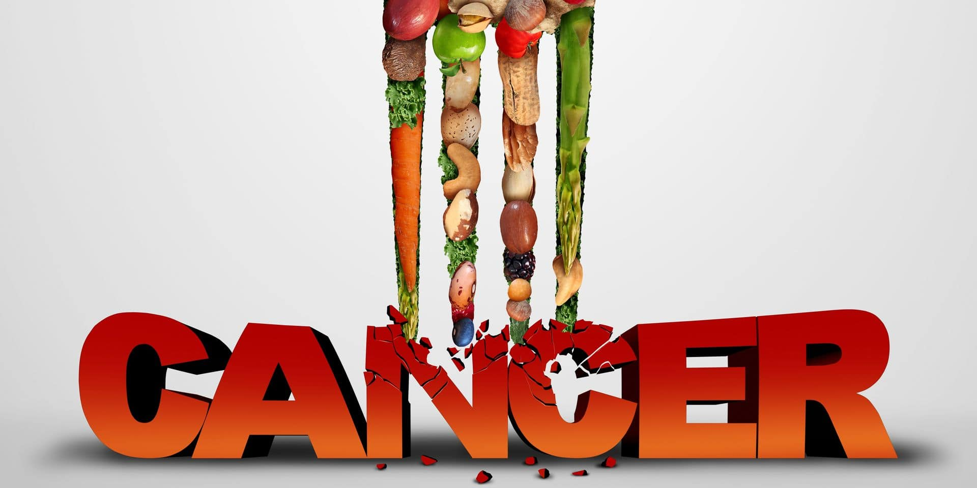 Cancer,Prevention,And,Killing,Malignant,Diseases,Eating,Healthy,Food,As