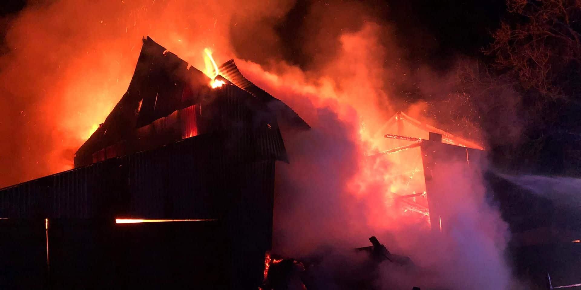Saint-Léger : un père de famille boute le feu à son domicile