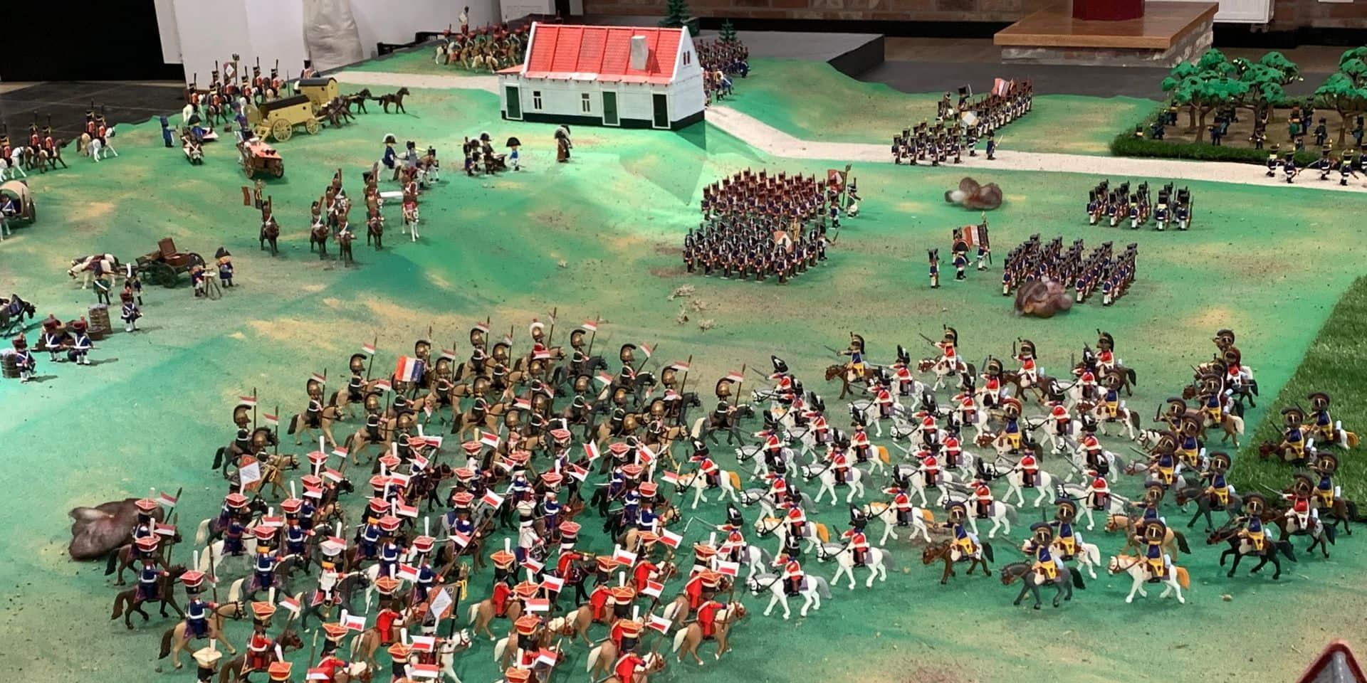 La vie de Napoléon et la bataille de Waterloo en Playmobil au musée Wellington
