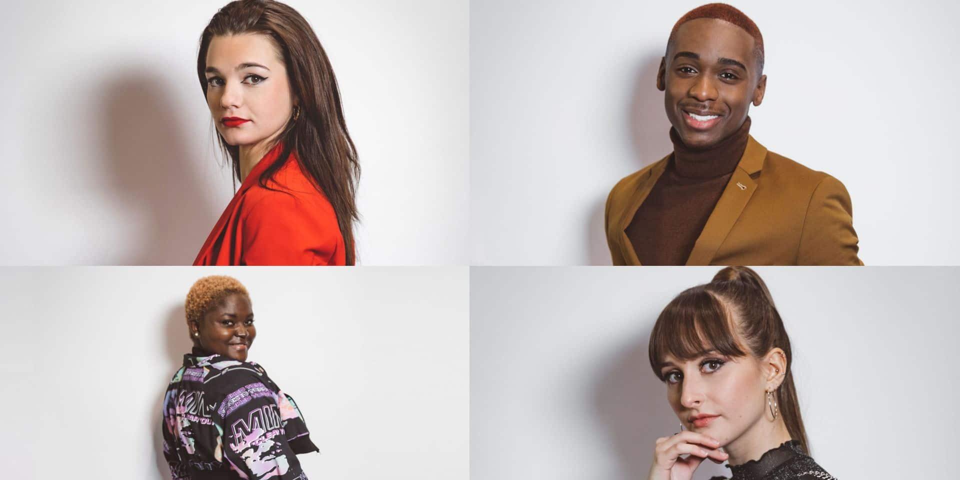 The Voice Belgique, c'est la grande finale : les quatre candidats vus par un proche !