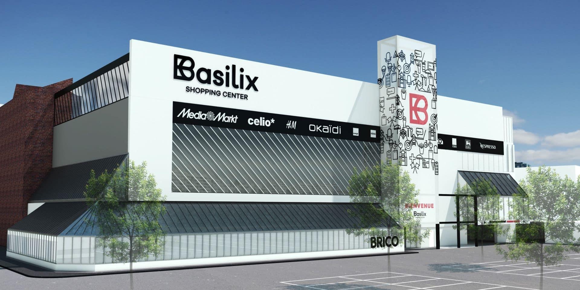 Berchem-Sainte-Agathe : Le centre commercial Basilix fait peau neuve