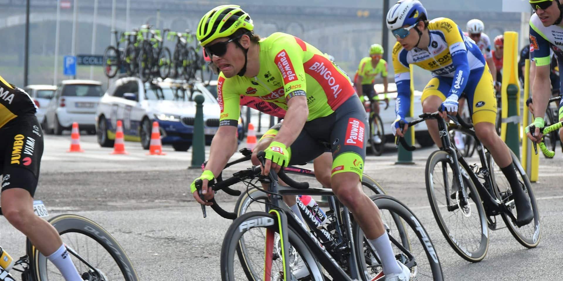 """Mertz satisfait après sa bonne performance au Tour de Valence: """"C'est bon pour le moral"""""""