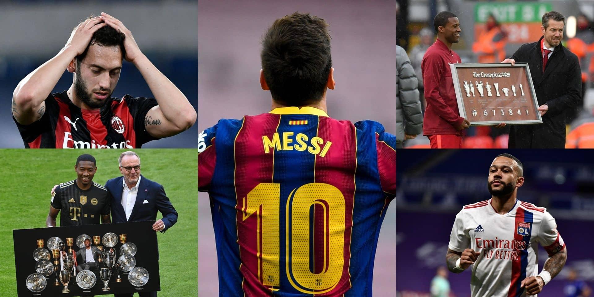 Alaba, Wijnaldum, Depay, Messi....: l'équipe hallucinante des joueurs en fin de contrat