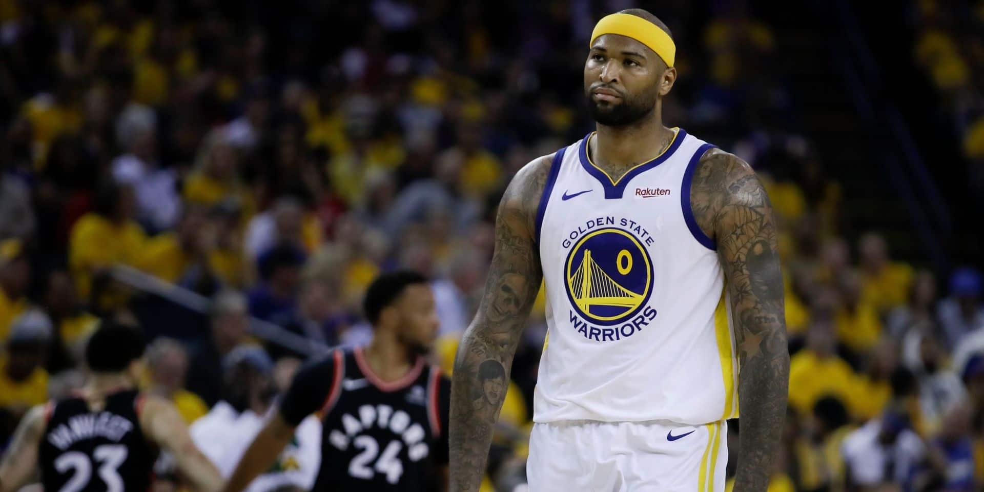 NBA: Le pivot DeMarcus Cousins de nouveau arrêté par une grave blessure