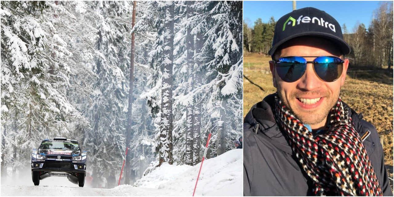 """WRC Suède: Nicolas Gilsoul ne se sent """"pas à l'aise"""""""