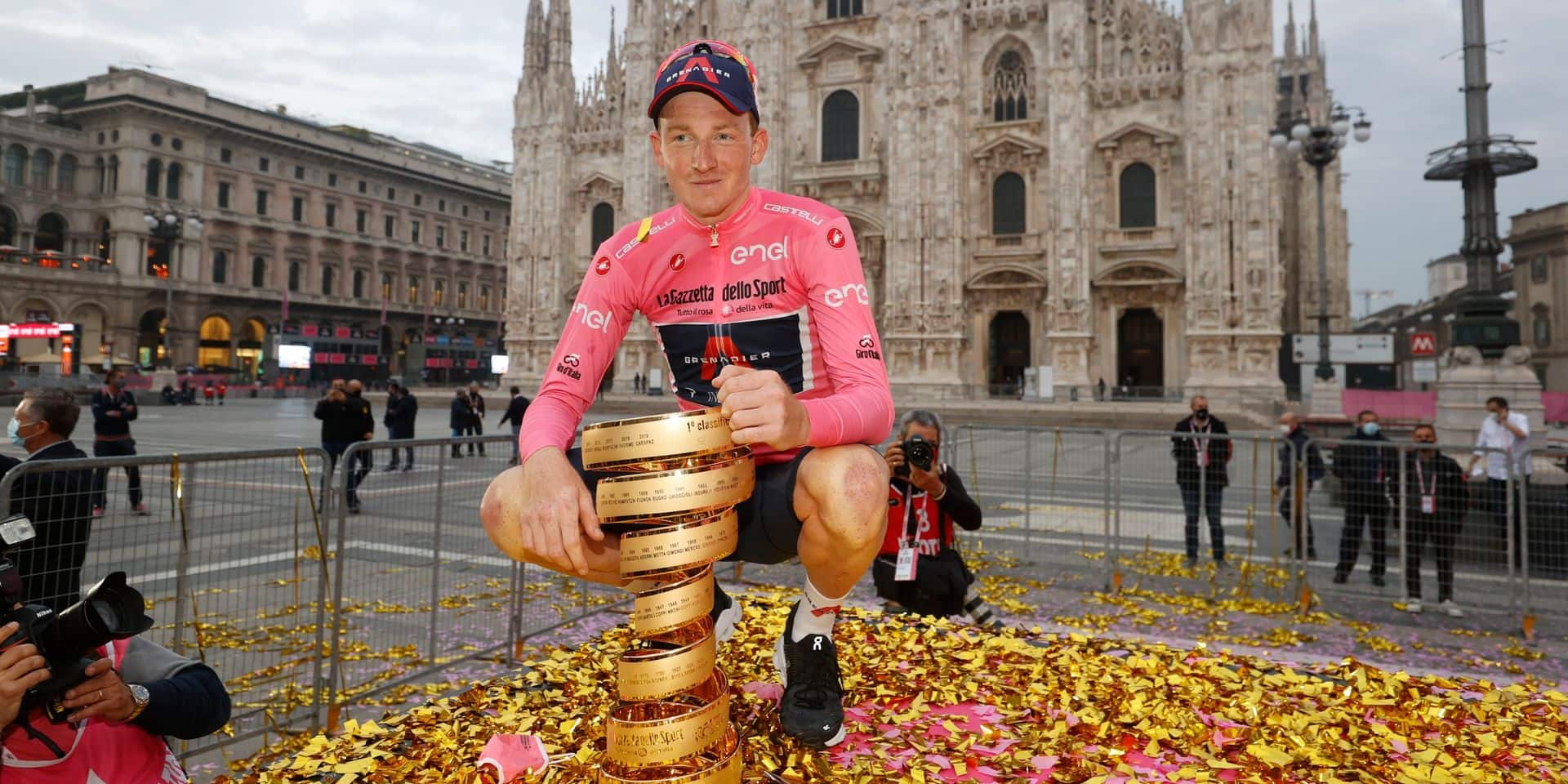 Tao Geoghegan Hart achète une voiture à son frère après avoir perdu un pari... sur sa victoire au Giro