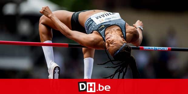 Belgian Nafissatou Nafi Thiam pictured in action during the high jump event of the women's heptathlon competition the first day of heptathlon competition at the DecaStar athletics event in Talence, France, Saturday 22 June 2019. BELGA PHOTO JASPER JACOBS