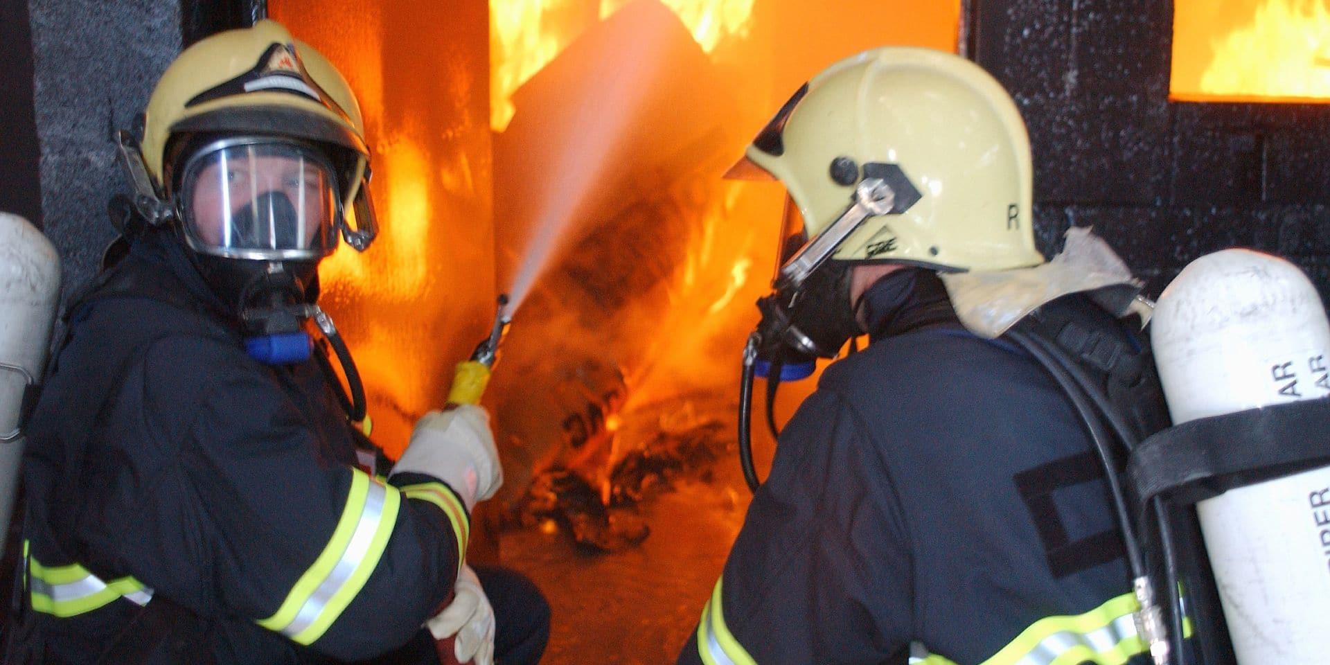 Clavier : important incendie dans une ferme