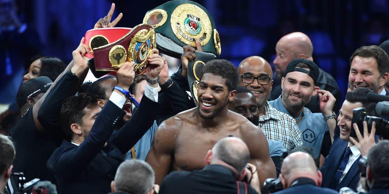 Joshua prend sa revanche sur Ruiz et récupère les titres IBF, WBA et WBO des lourds