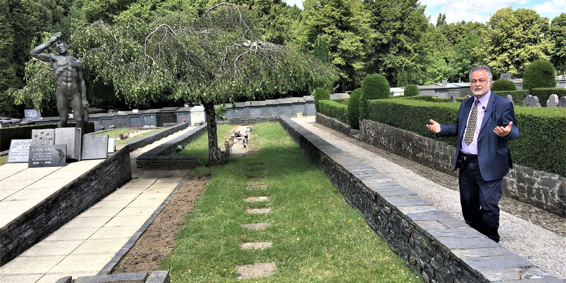 L'exhumation des mineurs inconnus du Cazier en bonne voie: le bourgmestre de Charleroi signera l'autorisation dès qu'elle lui sera soumise