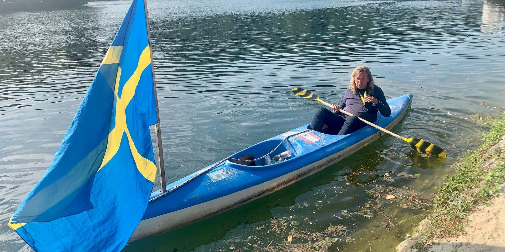 Namur: Marc Kayak ne peut plus nettoyer la Meuse
