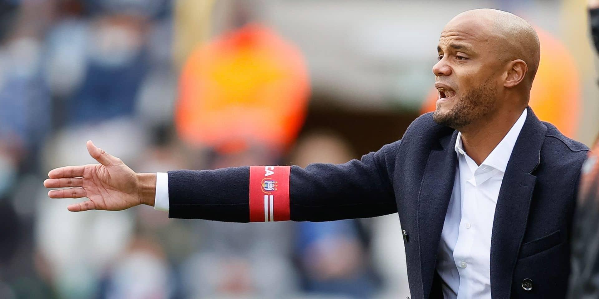 """Kompany: """"Tous touchés par la situation financière d'Anderlecht"""""""