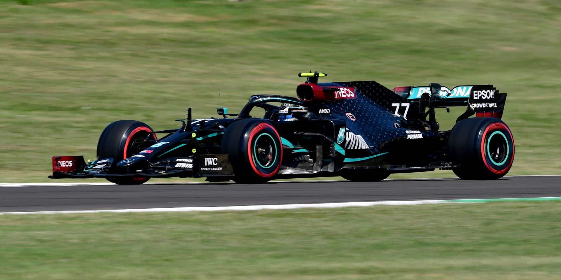 GP de Toscane EL3: Verstappen s'intercale entre les deux Mercedes de Bottas et Hamilton