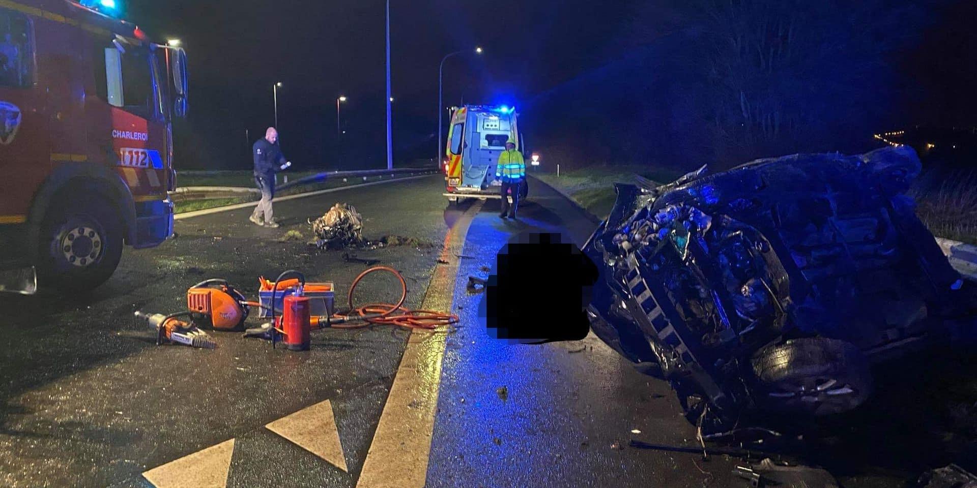 Liberchies: un automobiliste perd la vie sur l'A54