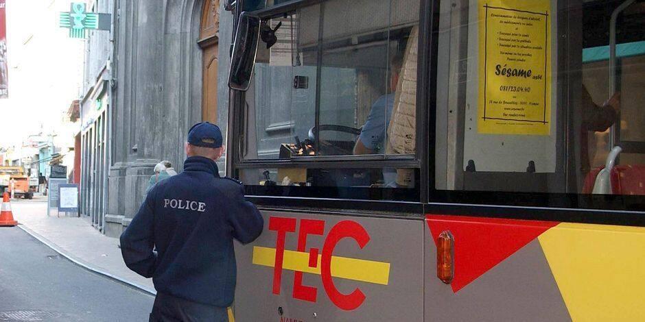 Il frappe un chauffeur du TEC et envoie une brique dans la vitre: 37 mois de prison ferme pour Pierre B.