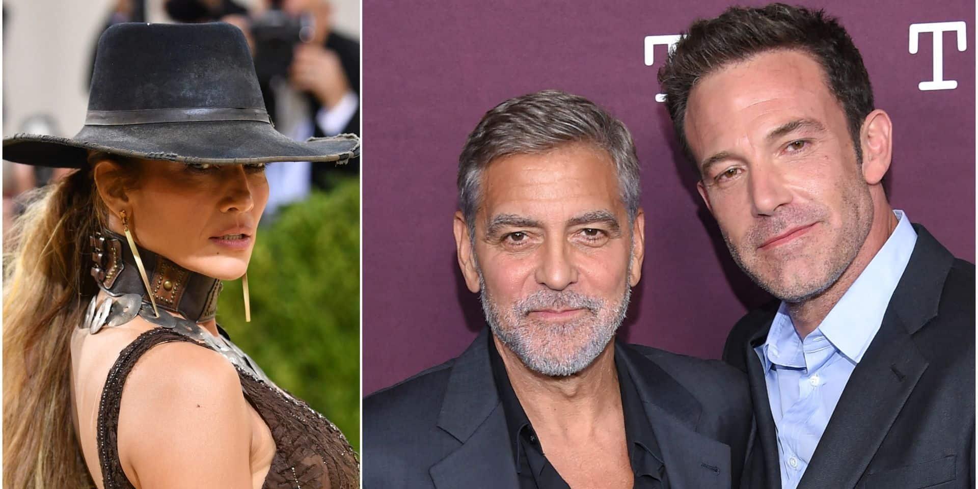 """Jennifer Lopez lâche Ben Affleck: elle ne """"supporterait pas"""" George Clooney"""