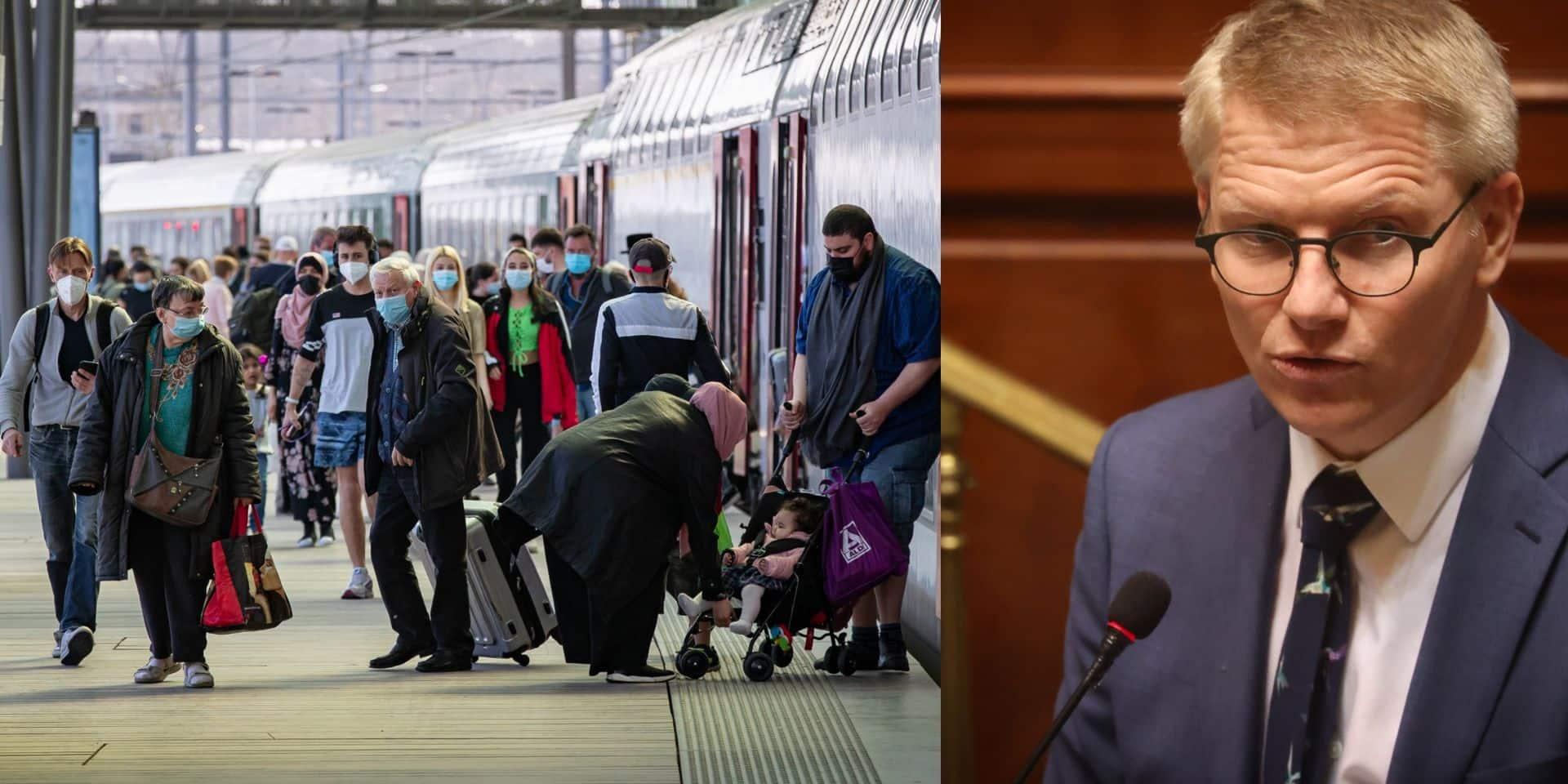 Trains vers la Côte: Gilkinet défend la mesure du Codeco et souligne toutes les autres destinations possibles en Belgique