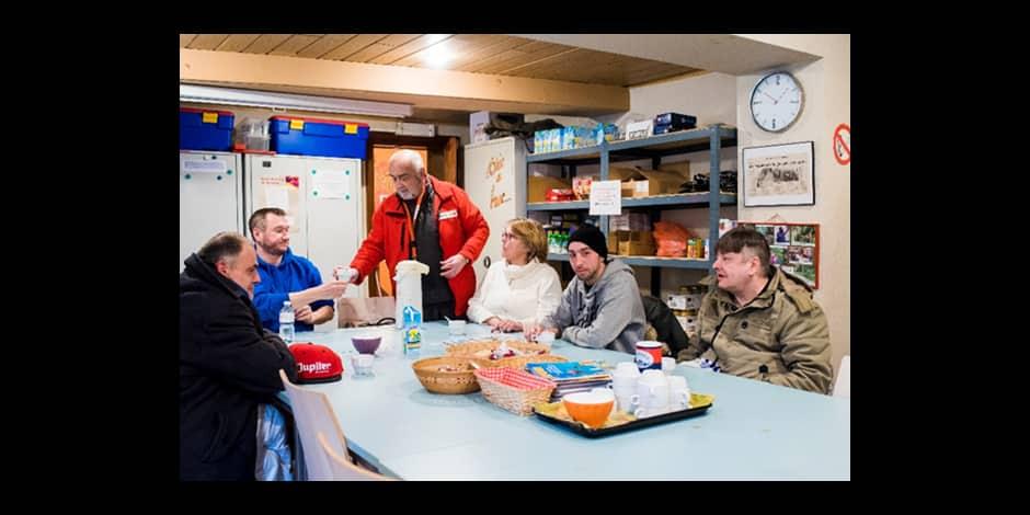 Jambes: la Croix-rouge ouvre les portes de son accueil solidaire