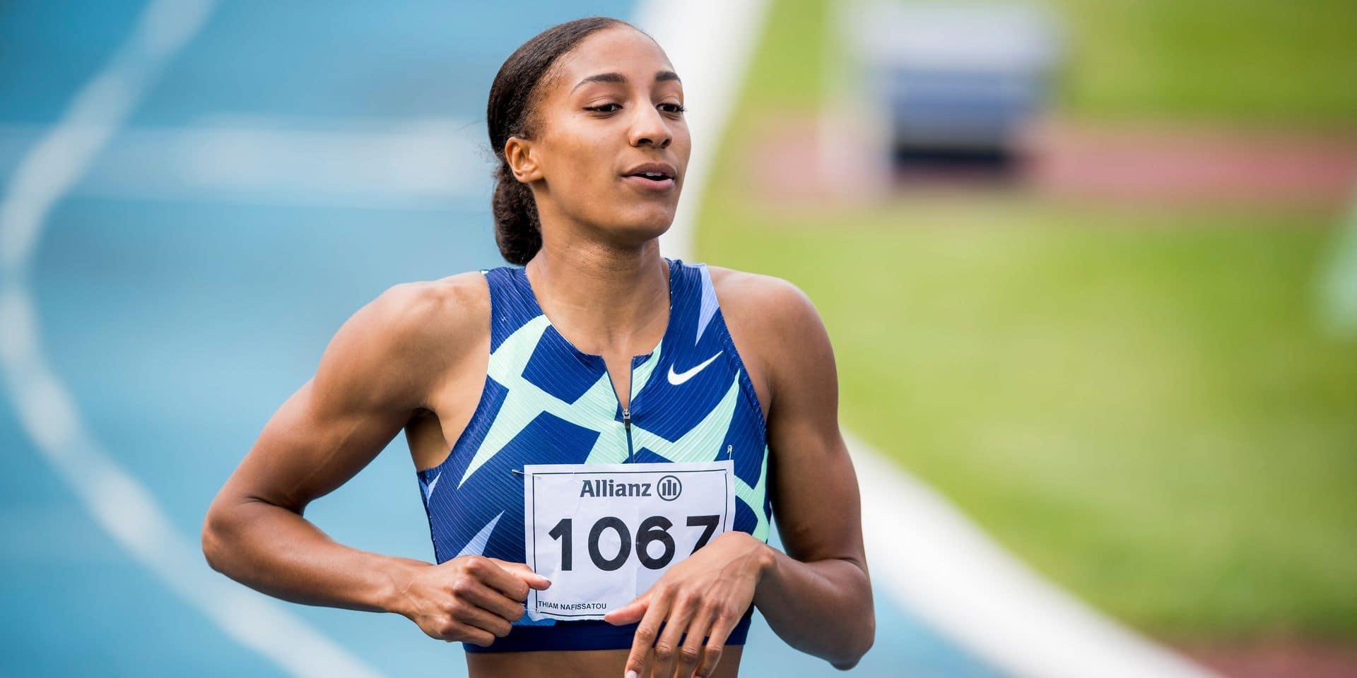 """Nafi Thiam confiante pour les Jeux olympiques: """"Je sais que je serai difficile à battre à Tokyo"""""""