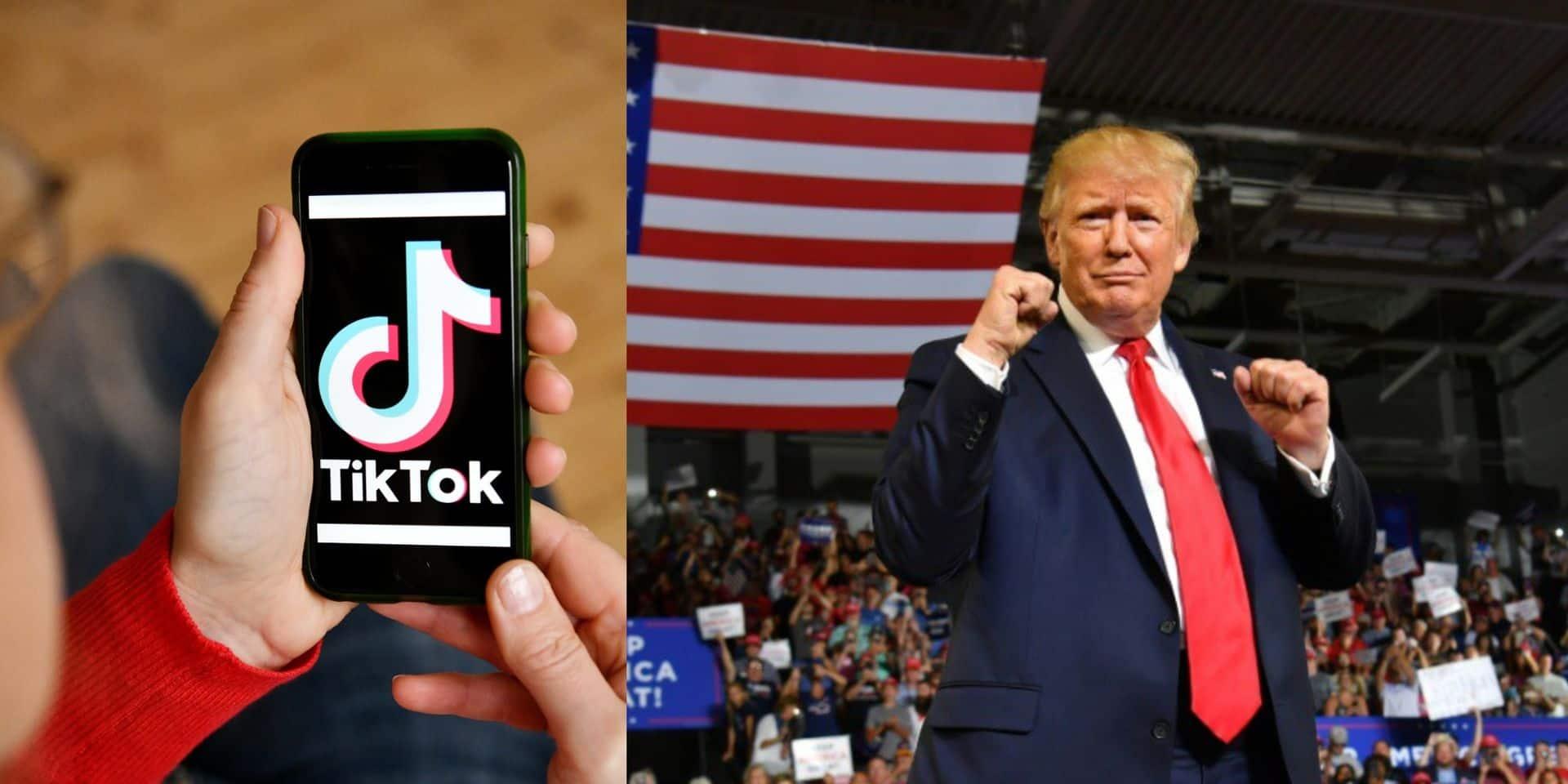 TikTok contre-attaque: l'application chinoise dépose une plainte contre le gouvernement américain
