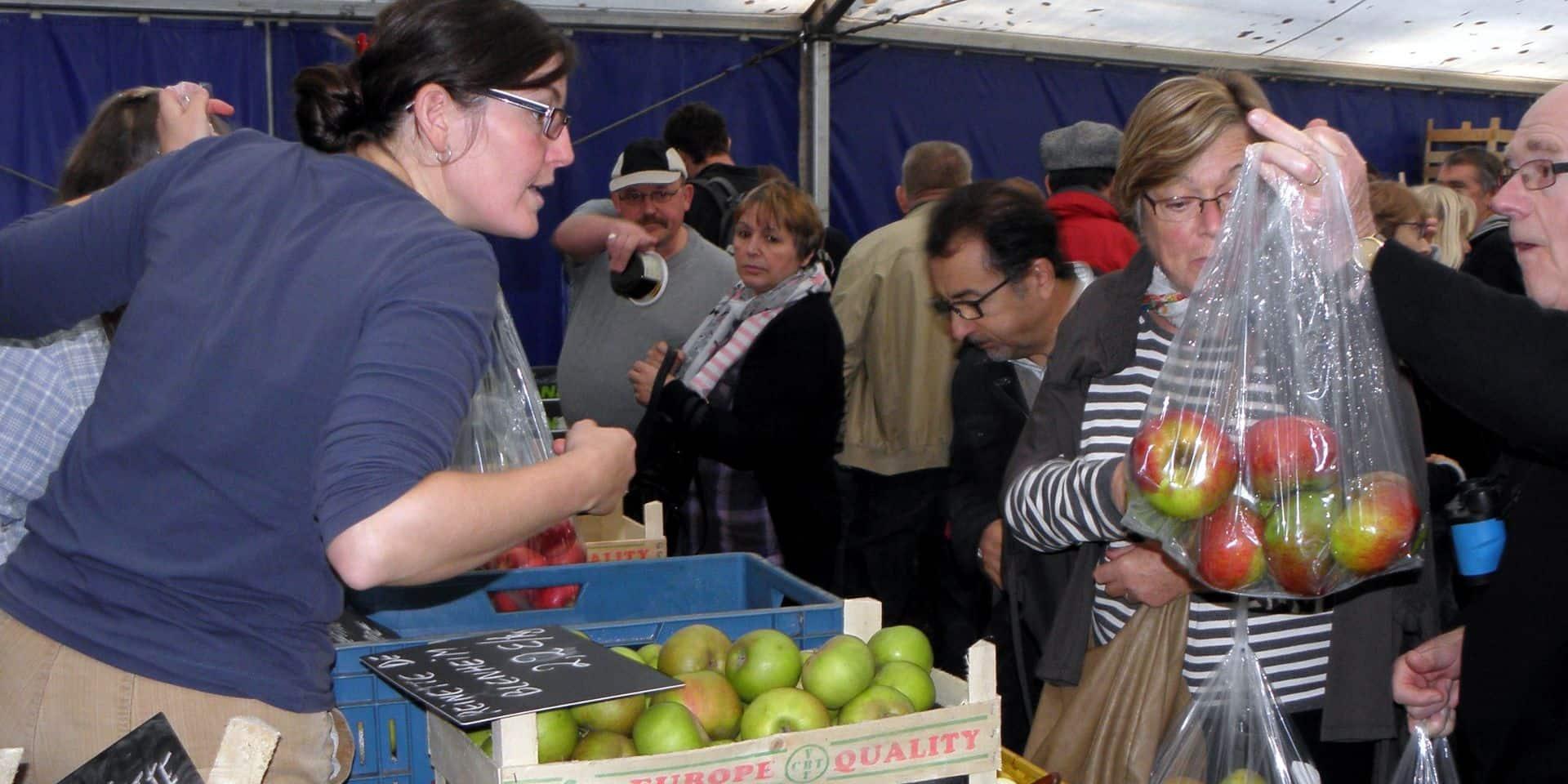 La Foire aux Pommes à l'Aquascope: l'occasion de faire le plein de fruits et de visiter le site naturel gratuitement