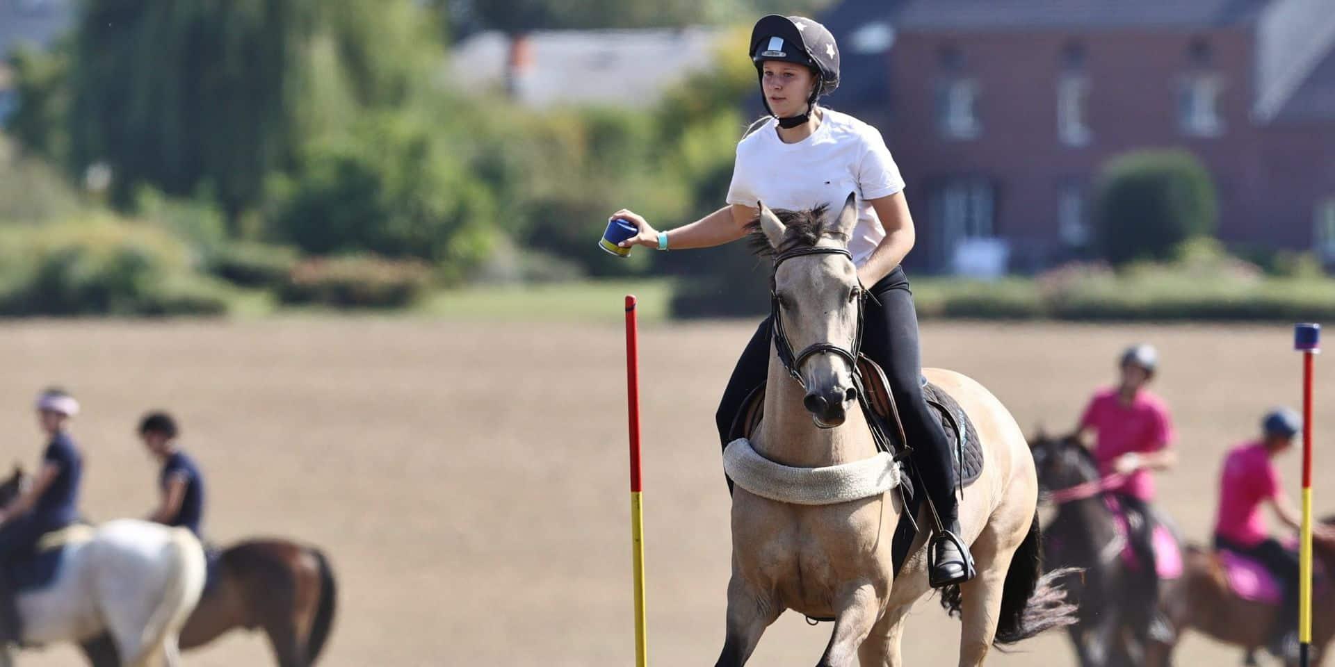 """Equitation : """"L'attente des cavaliers était grande"""" pour le seul concours de Pony-Games de l'année à Tourinnes-Saint-Lambert"""